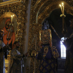 Lavra's altar feast of Nativity of Most Holy Theotokos