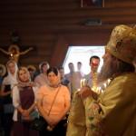 В Неделю 14-ю по Пятидесятнице митрополит Павел молился в храме Всех святых