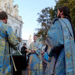 В Лавре совершен Акафист Покрову Пресвятой Богородицы (+видео)
