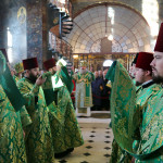Богослужіння в день Собору преподобних отців Ближніх печер