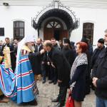 Митрополит Павел освятил памятник св. Клименту Охридскому