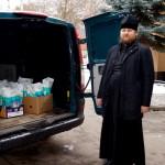 Братия соцотдела навестили детей из Центра реабилитации
