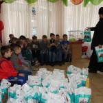 Братія соцвідділу відвідали дітей з Центру реабілітації