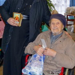 Братия навестили подопечных Пансионата ветеранов труда