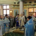 В день Собора Пресвятой Богородицы владыка Павел совершил Литургию на Оболони