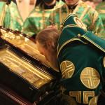 Наместник Лавры почтил память прп. Серафима Саровского