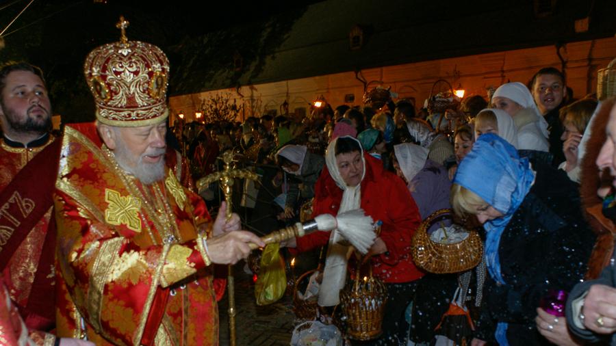 Пасха с Митрополитом Владимиром