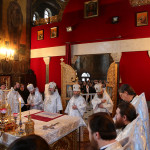 Divine services on the Eve of Theophany