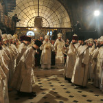 The Christmas' solemn services at the Lavra