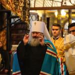 «Величаємо вас, святителі Христові Василію Великий, Григорію Богослове та Іоане Золотоустий»