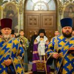 Богослужения праздника Сретения Господня возглавил Предстоятель УПЦ