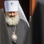 Митрополит Павел принял поздравления братии с юбилеем наместничества