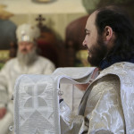 Наместник Лавры совершил Литургию на лаврском скиту