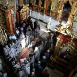 Священноначалием Лавры совершена Литургия Преждеосвященных Даров