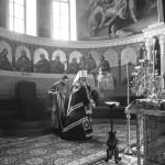 Ввечері свята Благовіщення Намісник очолив Акафіст Страстям Христовим
