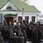 Братія Лаври привітали Намісника з днем хіротонії