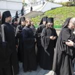 Братия Лавры поздравили Наместника с днем хиротонии