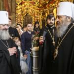 Поздравление Священноначалия с Пасхой Господней от братии Лавры
