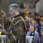 Первосвятитель возглавил богослужения Великого Четверга