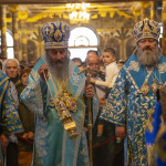 Divine services on the Lavra's altar feast of Annunciation