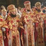 Богослужение Пасхи возглавил Священноархимандрит обители