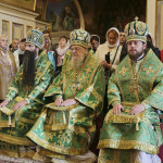 The solemn services in commemoration of Rev. Theodosius of Caves