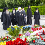 Митрополит Павел молився в Парку Вічної Слави напередодні Дня Перемоги