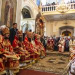 Намісник Лаври молився у Мгарському монастирі