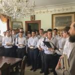Владыка Павел принял воспитанников Почаевской семинарии