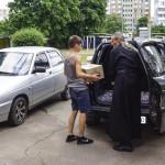 Братия соцотдела посетили Центр реабилитации детей