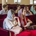 На «молодежке» говорили о сотворении человека и его грехопадении