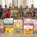 Братія соцвідділу відвідали Центр реабілітації дітей