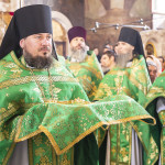 The Vicegerent of the Lavra headed the celebrations in honor of Venerable Agapitus