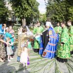 Митрополит Павел служил в храме вмц. Варвары г. Киева