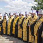 Молебен на Владимирской горке возглавил Митрополит Онуфрий