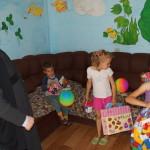 Братія соцвідділу Лаври були в гостях у дитячому розподільнику
