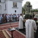 В Лавре совершены заупокойные богослужения по почившему Предстоятелю Митрополиту Владимиру