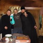 Братія соцвідділу Лаври надали допомогу багатодітним сім'ям Макарівського району