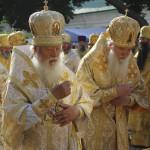 Всенощное бдение накануне св.кн. Владимира совершено в Лавре