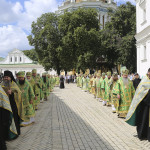 Solemn services performed on the memory day of Venerable Anthony