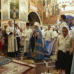Торжества праздника Преображения Господнего возглавил Священноархимандрит Лавры