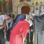 В День незалежності України було звершено молебень у Лаврі
