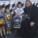Братия соцотдела Лавры навестили подопечных из Киевской области