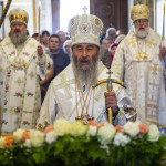 Services of the feast of Transfiguration of our Lord were led by the Head of UOC