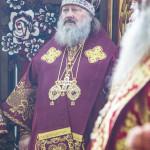Наместник Лавры сослужил на Анниной горе Первосвятителю