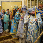Предстоятель возглавил богослужения великого праздника Успения Богородицы и Приснодевы Марии