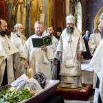 Звершено відспівування ієромонаха Давида