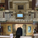 Митрополит Павел помолился у мощей своих небесных покровителей