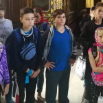В Лавре принимали детей из г. Марьинки Донецкой области