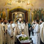 Совершено отпевание иеромонаха Давида